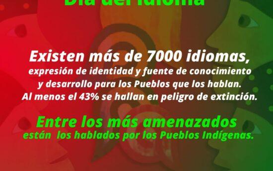 Se estima que en el mundo existen en la actualidad unas 7.000 lenguas, la mayoría creadas y habladas por Pueblos Indígenas, que representan la mayor parte de la diversidad cultural. La Organización de las Naciones Unidas para la Educación, la Ciencia y la Cultura ha expresado su preocupación ya que a nivel mundial desaparecen muchos […]