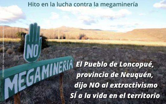 El 3 de junio de 2012, la ciudad de Loncopué fue escenario de un hecho histórico en las luchas populares de la Argentina, que reunió los esfuerzos de Pueblos Originarios, sectores urbanos y rurales en defensa de la vida en el territorio. Ese día se llevó a cabo el Referéndum surgido de la Ley […]