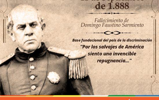 La herencia del Padre del Aula fue una educación que niega la diversidad y la interculturalidad, base del país de la discriminación. #Sarmiento #DiadelMaestro