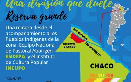 En el marco de la realización del II Congreso Internacional de Derecho Constitucional Indígena, Endepa junto al Instituto de Cultura Popular (INCUPO) brindarán su mirada sobre el caso del conflicto por la adjudicación de las tierras de la Reserva Grande, Chaco. #DerechoIndigena #Territorio